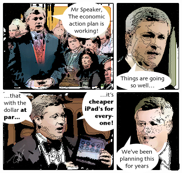 Stephen Harper iPad
