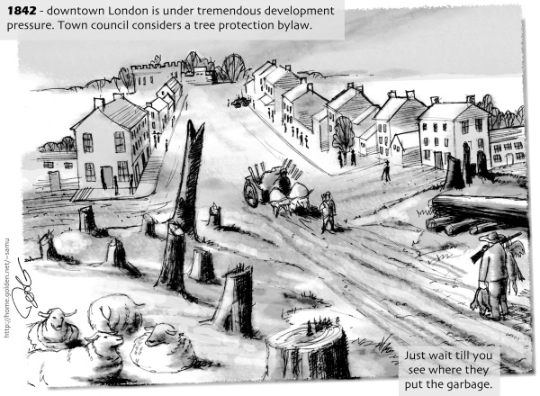 Downtown London Ontario 1842