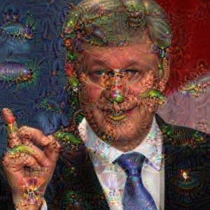 Harper deep dream manipulation