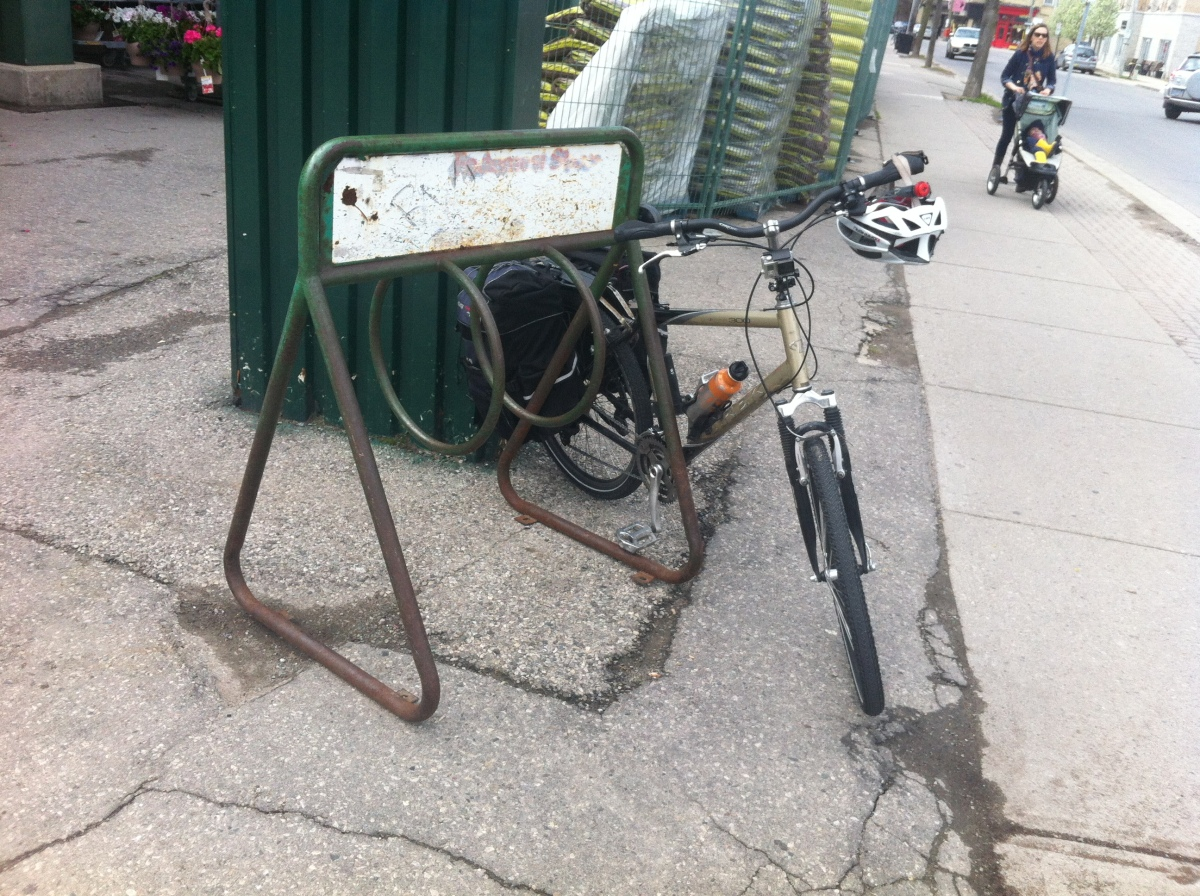 My stolen bike #ldnont