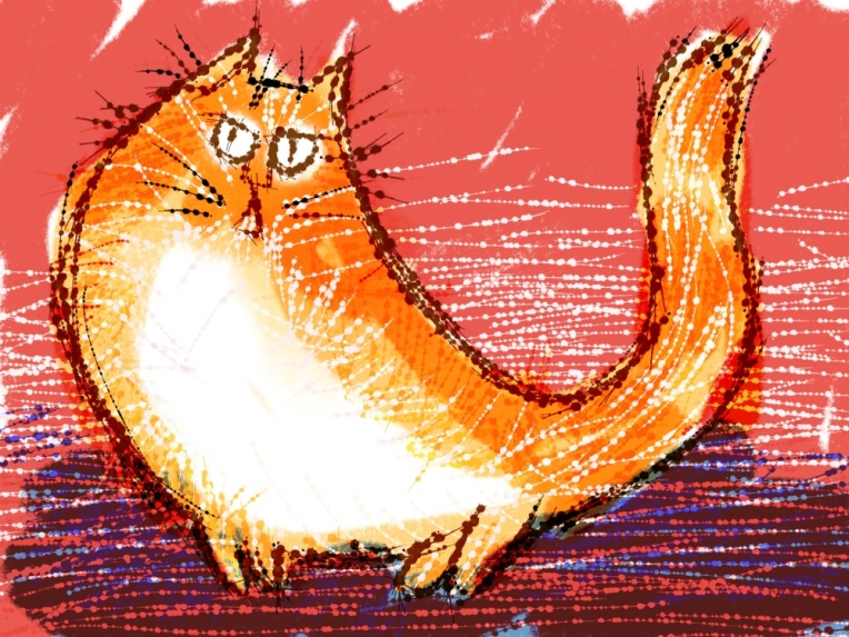 Having fun with brushes in Procreate  – cartoon life